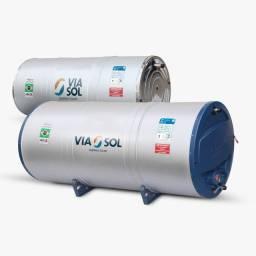 Reservatório 400 litros Via Sol com 2 coletores de 2 x 1,00 (Cobre)