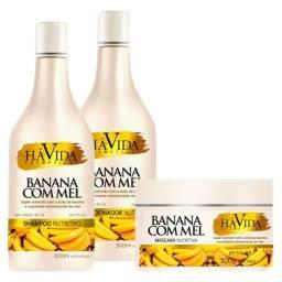 Kit banana e mel há vida