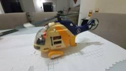 Helicóptero de brinquedo Imaginext Fisher Price