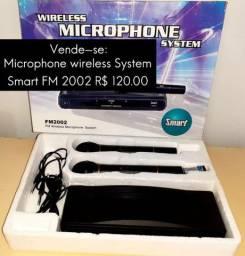 Microfone Wireless System