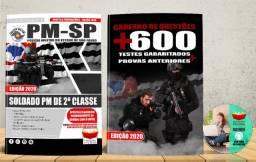 Apostila Pm Sp Soldado Polícia Militar 2° Classe Concurso 2020 - Nova e Lacrada com Brinde