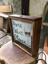Porta rolha vinho