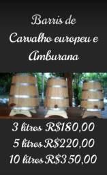Barril de Carvalho ou Amburana