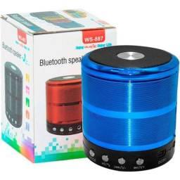 Caixinha de Som com Bluetooth WS-887