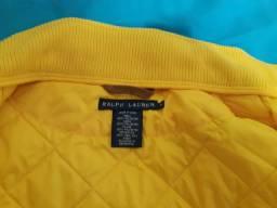 Colete matelassê Ralph Loren amarelo