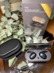 Fone de ouvido Bluetooth c case grátis!