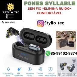 Título do anúncio: Fone Bluetooth Syllable S101 Novo! LACRADO! Promoção Chip da QUALCOMM+Aptx