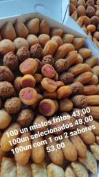 100 salgadinhos fritos mistos 43 00