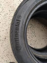 Título do anúncio: Par de pneus usado em bom estado 205 55 17