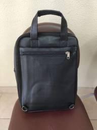 bolsa feita em couro legitimo fena couro