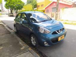 Nissan March 2015 Extra. 48X R$ 656+ entrada facilitada
