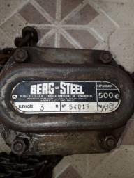 Título do anúncio: Talha Berg Steel - 500 KG - Corrente de 3 m
