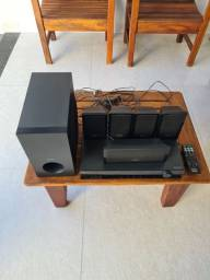 Título do anúncio: Home theater Sony Completo modelo  HBD-TZ210