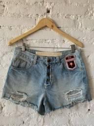 Título do anúncio: Short jeans claro Oh Boy! 38
