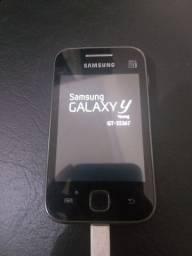 Celular Samsung Galaxy Y - Com TV digital