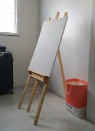 Título do anúncio: Cavalete com tela de pintura