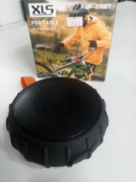 Caixa de som portátil bike moto
