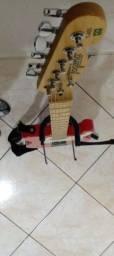 Título do anúncio: Guitarra Tagima Telecaster T405 Vermelha
