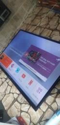 Título do anúncio: Vendo tv Samsung new plasma 60 pol.com tvbox transformando em smart