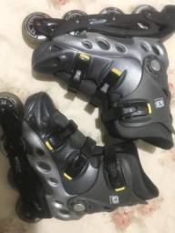 Patins/Roller TRAXART SPECTRO CINZA