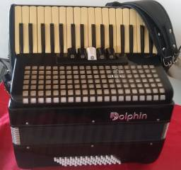 Título do anúncio: Vendo acordeon semi-novo já eletrificado