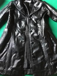 Jaqueta de couro Tina brunelli