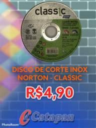DISCO DE CORTE INOX NORTON