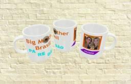 Canecas personalizadas de temas divertidos para as mães