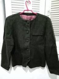 Casaco de lã Tam P/M