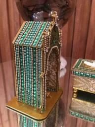 Oratório Verde Esmeralda Nsa. Sra. Aparecida