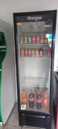 Título do anúncio: Expositor Refrigerado De Bebidas Vertical Branco 400l - 220v