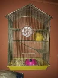 Gaiola 3 andares para roedores