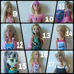 Barbies, Pollys, Monster High e Ever After High