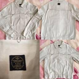 Jaqueta jeans triton original t.M/G
