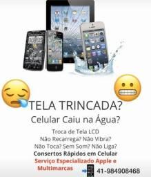 Telas iPhone e outras marcas