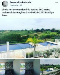Terreno condominio verana parcelado direto com o proprietario