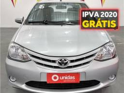 Toyota Etios 1.3 x 16v flex 4p manual - 2016