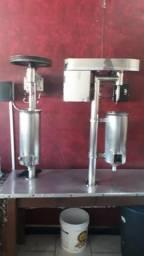 Maquinário de açaí