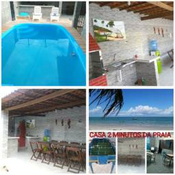 Casa com piscina,2 minutos da praia em itamaracá