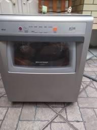 Lava-louças Ative 8 Serviços Prata Brastemp