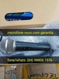 Profissional microfone com fio