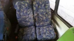 Bancos reclináveis soft ônibus rodoviário