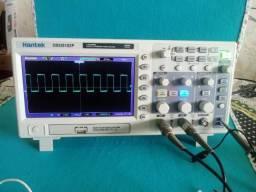Osciloscópio Hantek dso5102p original usb 2 canais 100 mhz 1gsa/s