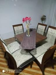 Mesa de Jantar 06 cadeiras + Bufe