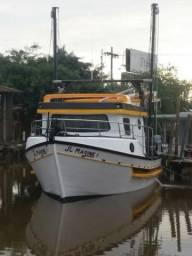 Bote / Barco de pesca de camarão - 2017