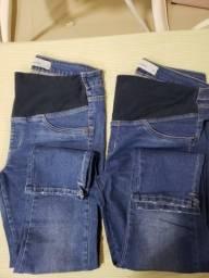 Vendo 2 calças para grávida números 42 e 44
