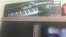 Teclado controlador Novation launchkey 61 mk2