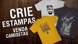 Estamparia Camisetas Impressora DTG Têxtil Equipamentos Completos + Estoque