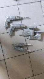 Conjunto de maquinas pneumaticas