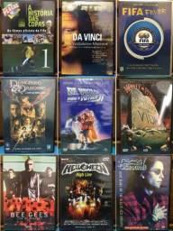 Coleção/lote Com 09 Dvds - Show, Filme E Documentário